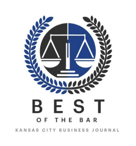 Best Of The Bar Award From Kansas City Business Journal