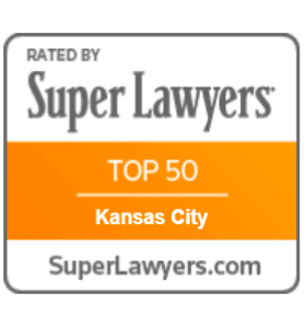 Rate by Super Lawyers - Top 50 - Kansas City